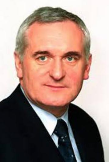 Bertie Ahern Taoiseach Picture