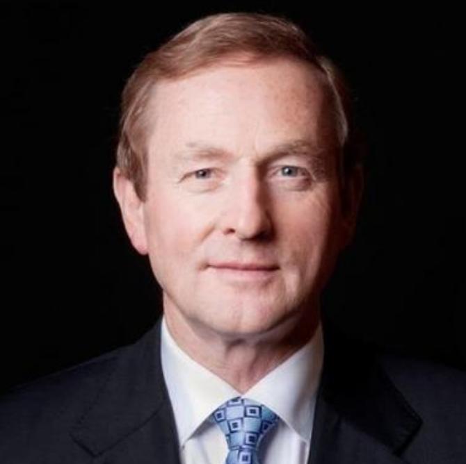 Enda Kenny Taoiseach Picture